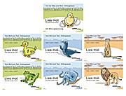 Lies mal Küken, 1 Ente, 2 Frosch, 3 Robbe, 4 Krake, 5 Erdmännchen, 6 Löwe neue Version