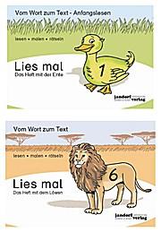 Lies mal! Heft mit der Ente und Löwe Heft 1,6