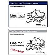 Lies mal 4, Krake Heft und Lösungsheft (alte Version)