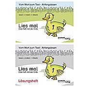 Lies mal 1 Ente Heft und Lösungsheft