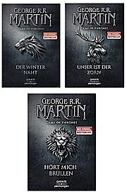 Hört mich brüllen Game of Thrones + Bd 2 + 3 Der Winter naht, Unser ist der Zorn, Hört mich brüllen