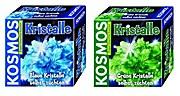 Kristalle selbst züchten blau + grün Kosmos