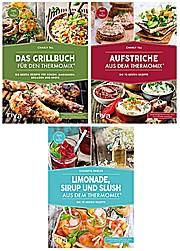 Das Grillbuch für den Thermomix®, Aufstriche, Limonade, Sirup und Slush aus dem Thermomix®