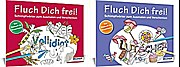 Malbuch für Erwachsene: Fluch Dich frei – Vollidiot u Lutscher: Schimpfwörter zum Ausmalen und Verschenken (Kreativ)