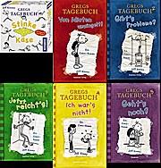Gregs Tagebuch Stinke-Käse u Bd. 1, 2, 3, 4, 5 gebundene Ausg.