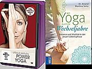 Mit Yoga durch die Wechseljahre u Power Yoga DVD mit Yoga Block