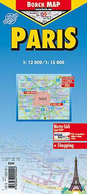 Paris 1 : 12 000 / 1 : 15 000