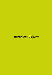 arneolsen.de sign - Editorial Design: Zwei Jahrzehnte Katalog- und Buchgestaltung