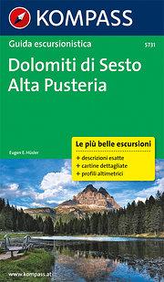 Dolomiti di Sesto - Alta Pusteria: Wanderführer mit Tourenkarten und Höhenprofilen