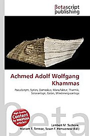 Achmed Adolf Wolfgang Khammas