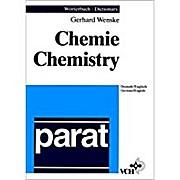 Dictionary of Chemistry - Set. Deutsch/Englisch - English/German: parat Wörterbuch Chemie Deutsch/Englisch. parat Dictionary of Chemistry German/English (Spudasmata,)